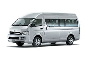 Sedan: Toyota Commuter transfers from Krabi Airport to Koh Lanta island